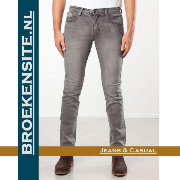 New Star slim fit stretch dark stone NS - 999-JV-SLIM-23-23 Broekensite jeans casual