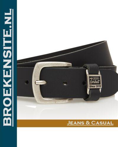 Riem Excellent handgemaakt zwart TB 460-ZW Broekensite jeans casual