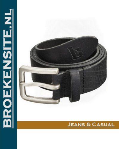 Riem Ranger Malta handgemaakt zwart BP 410004 - 900 Broekensite jeans casual