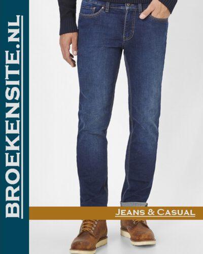 Paddocks Ranger Pipe Saddle dark blue + soft use P 80163 3695 000- 5429 Broekensite jeans casual