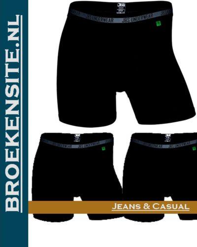 Bamboo Boxershort JBS zwart (3-pack) JDS 11080-998 zwl Broekensite