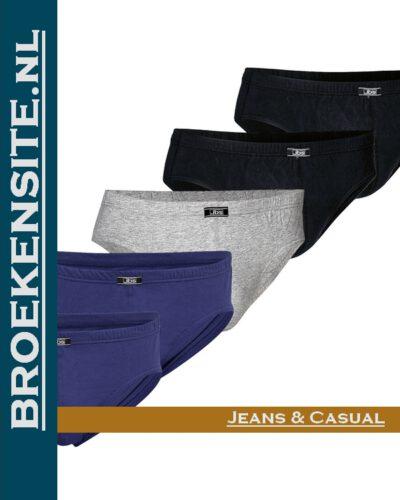 Bio-Cotton slip JBS mulit-color (5-pack) JDS 1140 - multicolor Broekensite jeans en casual
