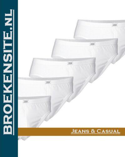 Bio-Cotton slip JBS wit (5-pack) JDS 1140 - wit Broekensite jeans en casual